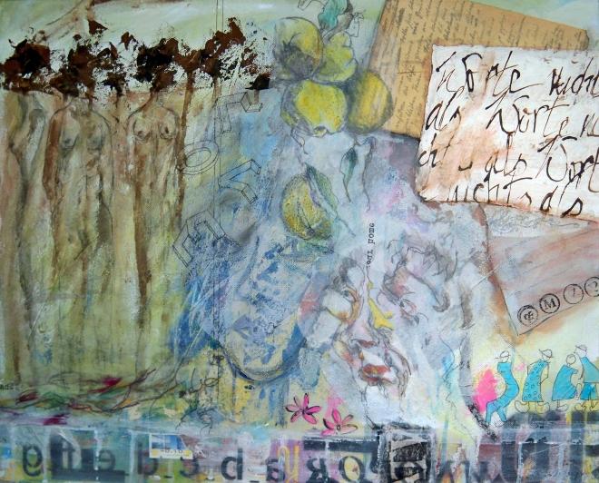Worte nichts als Worte Künstlerin: Elisabeth Harnischfeger